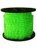 1/2 in. - LED - Green - Rope Light - 2 Wire - 120V - 150 ft. Spool - Green Color Tubing with Green LEDs - IFLC-18-GS